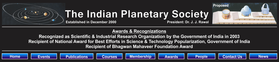 The Indian Planetary Society